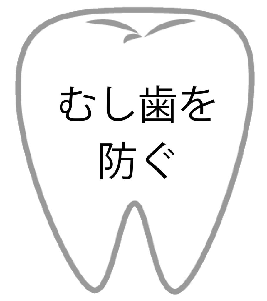 むし歯を防ぐ