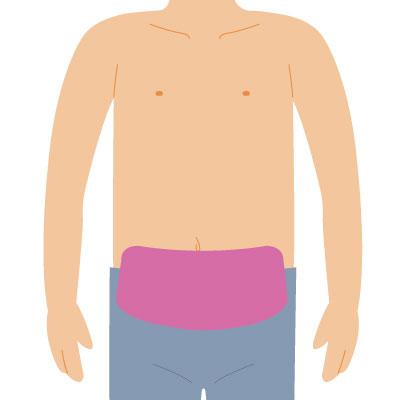 メンズ脱毛 下腹部